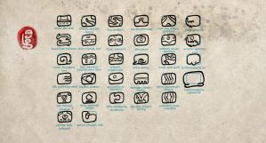 brumian logoglyphs by LaughtonMcCry