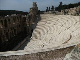 Acropolis theatre by UndertakerisEpic