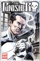 Punisher sketch cover 02 by BillReinhold