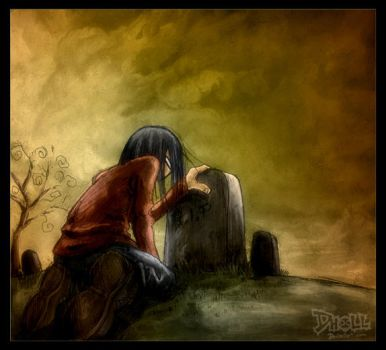 Sadness by dholl