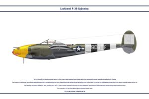 P-38J USAAF 485th FS 1 by WS-Clave