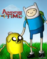 Finn and Jake by NiGHTSgirl666