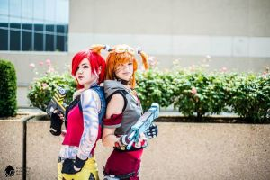 Lilith and Gaige - Taking Care of Business by SilentStarzzCosplay