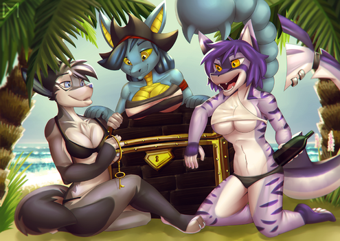 [YCH] Chest by Diaminerre