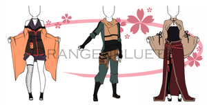 Auction 3 - Female/Male Outfit - Closed by Orangenbluete
