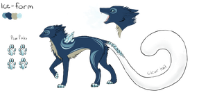 Ice-Form Dereon Adopt #6 (Closed) by dragons011