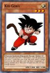 Kid Goku - Dragon Ball Yu-Gi-Oh! card by MarkDBZRiderFanFTW