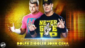 NEW CHAMPIONS! Dolph Ziggler And John Cena by T1beeties