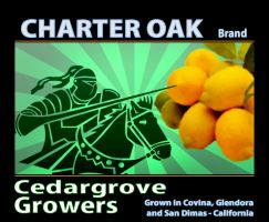 Fruit Crate Label - Cedargrove by frotton