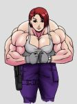 muscle Jill Valentine No.2 RELOADED in color by kyptova
