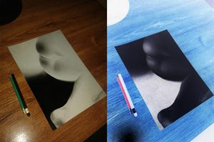 First atempt for invert drawing by eFoArt