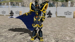 MMD NC - Alphamon Version 2 by Zeltrax987