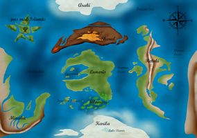 World map of Amira by Nature-Star