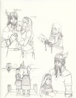 Ireth's family and goodbyes by yamilink