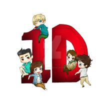 ONE DIRECTION SD by mikachu1093