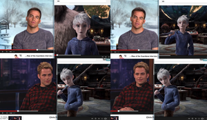 Chris Pine as Jack Frost! RotG by Archery-colors