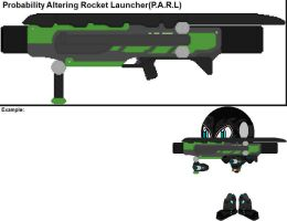 Probability Altering Rocket Launcher(P.A.R.L) by YellowNinja123