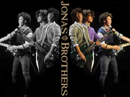 Jonas Brothers Wallpaper by Meeltje2951