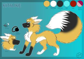 Kitsuke the Fox - Reference by Marcella-Youko