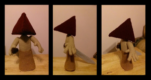 Little Pyramid Head by FreakieGeekie