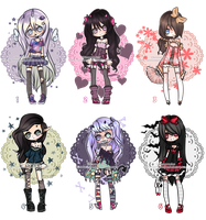 Adoptables ::CLOSED:: by KimmyPeaches