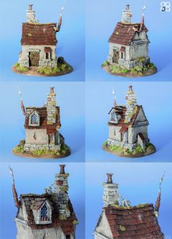Shabby House by MickDarpa