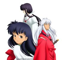 Inuyasha - Who shall I choose by AquaWaters