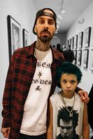 Travis Barker and son by Silent-Warfare