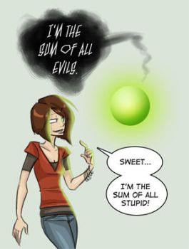 sum of all evils meets.... by Loam