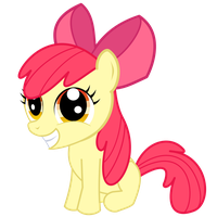 Apple Bloom's Smile by FoxTail8000