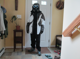 Snippy Cosplay WIP by Skybird99