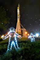astronauts by Nataly-st