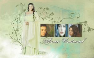 Arwen Undomiel Wallpaper by drkay85