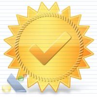Free Vista Certificate Icon by artistsvalley