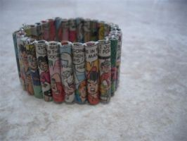 Archie comic bracelet by estranged-illusions