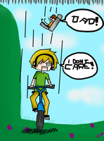 happywheels pewdiepie I DONT CARE by kmuddy5