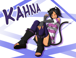 Incoming OC!- Kahna by RoCatr88