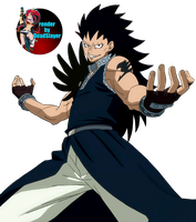 gajeel render by noamanga