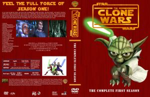 Star Wars The Clone Wars Season 1 R1 Cover by Mastrada101