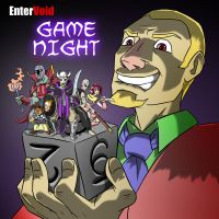 Game Night Cover by pyrasterran