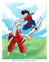 Inuyasha meets Ranma by mics15