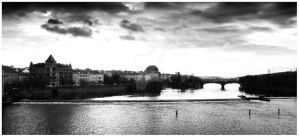 Praha is Black and White by WindDesert