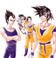 Saiyan Boyz. by ShouYume