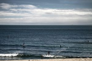 Paddle surfers by fuxs