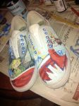 Finished Wind Waker Shoes! by AnimeBrownie