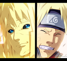 Naruto 644 - Father And Son by the103orjagrat