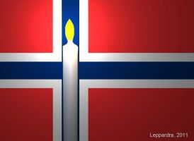 A Prayer for Norway by Leppardra