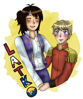 [APH] New OC/Canon Ship aww yeeaahh by melondramatics