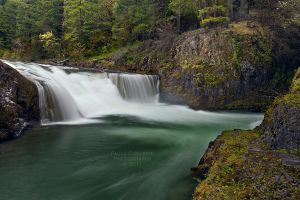 Steamboat Falls by La-Vita-a-Bella