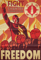 Resolutionist Propaganda Poster by TheDalishRanger